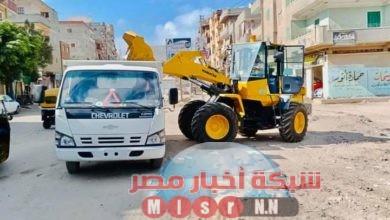 صورة رفع 2194 طن مخلفات وقمامة بمراكز ومدن كفر الشيخ خلال أيام العيد .