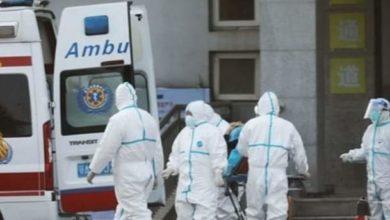 صورة تزايد اعداد الاصابات بكورونا فى روسيا.