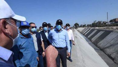 صورة رئيس الوزراء .. يتفقد مشروع تبطين وتأهيل الترع بكفر الشيخ