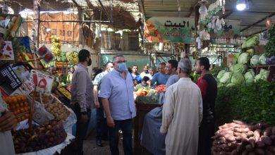 صورة محافظ البحر الأحمر يتفقد سوق الخضار والمركز التكنولوجي بالغردقة.