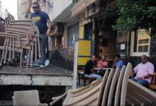 صورة استمرار حملات إزالة ورفع الاشغالات بأحياء الاسكندرية.