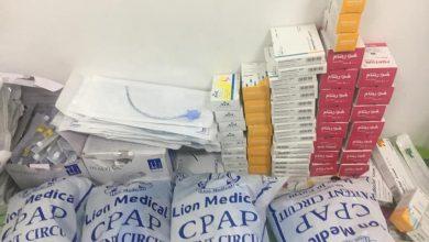 صورة صحة الشرقية : تشميع مركز طبي خاص للأطفال المبتسرين غير مرخص وضبط ٤٤٣ مخالفة دوائية بفاقوس