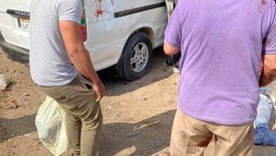 صورة وفاة 4 أشخاص علي طريق  دكرنس المنصورة دقهلية