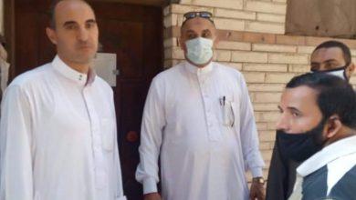 صورة مدير أوقاف الرمل بالاسكندرية ومرور مفاجئ لضبط العمل الادارى بالمساجد.