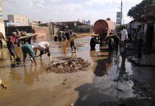 صورة ماضى .. تتابع اعمال رفع مياه الامطار بنطاق مركز ومدينة دسوق .