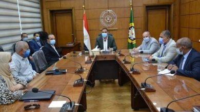 صورة محافظ الدقهلية .. يترأس الاجتماع برؤساء المراكز والمدن والاحياء .