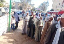 صورة إقبال كبير على اللجان الانتخابية لمجلس النواب بالبحيرة .