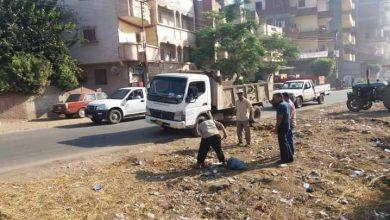 صورة حملات نظافة مكثفة ومتابعة ميدانية بقرى دسوق.