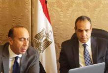 صورة مساعد وزير الخارجية للشؤون الآسيوية وسفير طاجيكستان بالقاهرة يبحثان التعاون المشترك.
