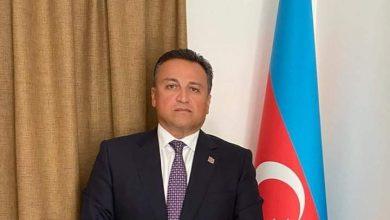 """صورة """" جافيدان """" يستنكر انتهاك أرمينيا لقرار وقف إطلاق النار ورفضها للحل السياسي"""