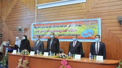 صورة رئيس جامعة كفر الشيخ .. يلتقي بالطلاب الجدد بعدد من الكليات.