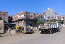 صورة حملات نظافة مكثفة ومتابعة ميدانية بقرى دسوق .