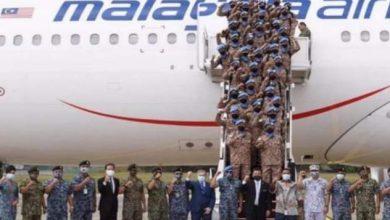 صورة ماليزيا.. ترسل فريقا عسكريا للمشاركة فى بعثة حفظ السلام بلبنان.