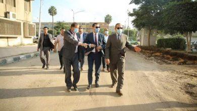صورة نور الدين .. يتفقد الاعمال الجارية لتوسعة الشوارع بكفر الشيخ.