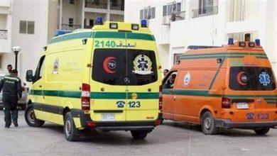 صورة مصرع ربة منزل بحادث بالطريق الدائري بمسطرد
