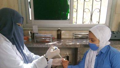 صورة صحة الشرقية فحص أكثر من ٣٥٣ ألف طالب بالمبادرة الرئاسية للأنيميا لطلبة المدارس الإبتدائية بالمحافظة بنسبة تخطت ٨٤% خلال ٢٢ يوم